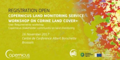 Workshop on CORINE Land Cover+, 16 November 2017, Brussels, Belgium