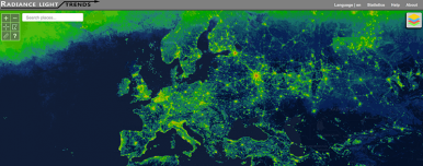 Release of webapp- New light pollution tracking tool