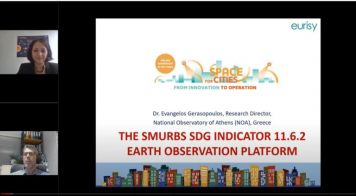 "SMURBS significantly contributes to the online workshop ""Space for Cities"" organized by EURISY, October 2020"